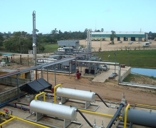 Belize Gas Processing