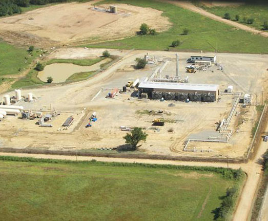 Atoka Gas Processing Facilities