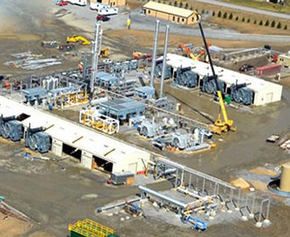 Bluestone Processing Plant
